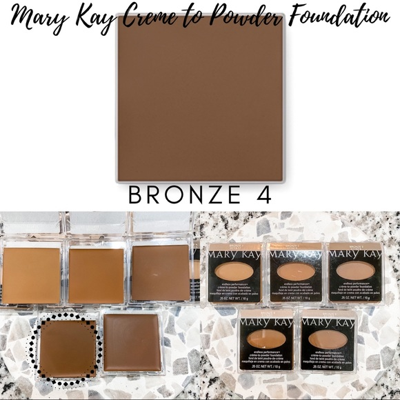 Mary Kay Creme to Powder Foundation In Bronze 4